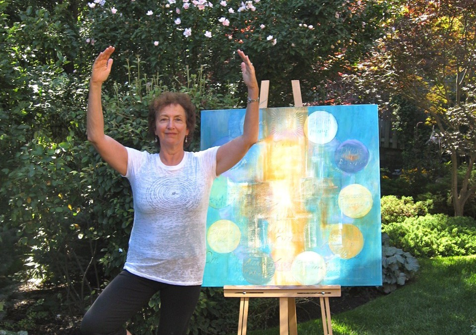 Yoga and Painting