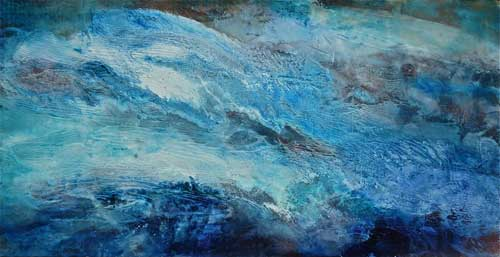 Ocean Energy 24, 18x w 36, Mixed media, $975