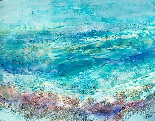 Ocean Glory Textures #2, 30x36, $2100
