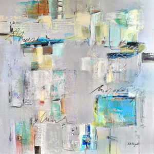 Sacred Spaces #2, 36x36, Mixed media, $1800