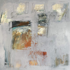 """Sacred Spaces #3, 36""""x36"""". Mixed Media, $180"""
