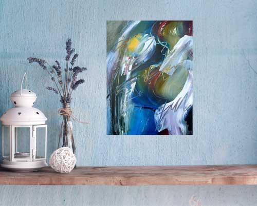 Dance of Joy, 30 x 22, Acrylic, $1100